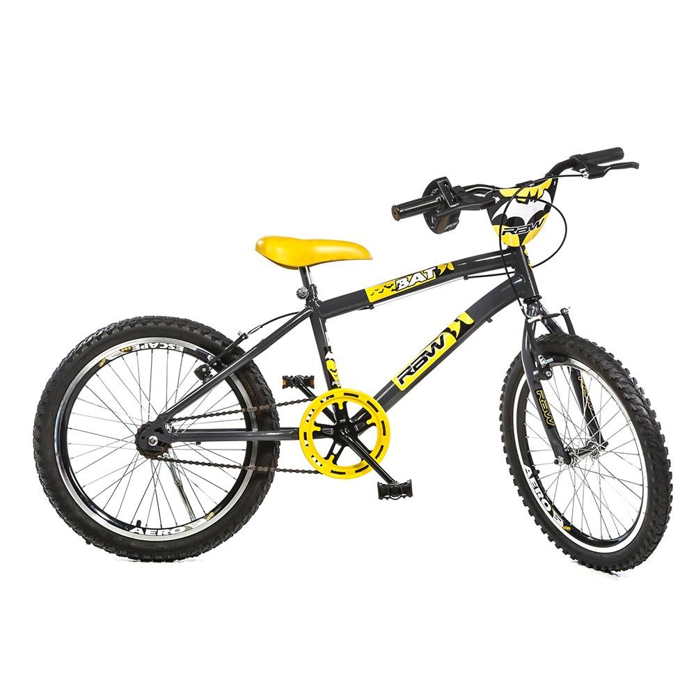 f487ad037 Bicicleta Infantil Batman Aro 20 Bat Special Preto E Amarelo - R ...