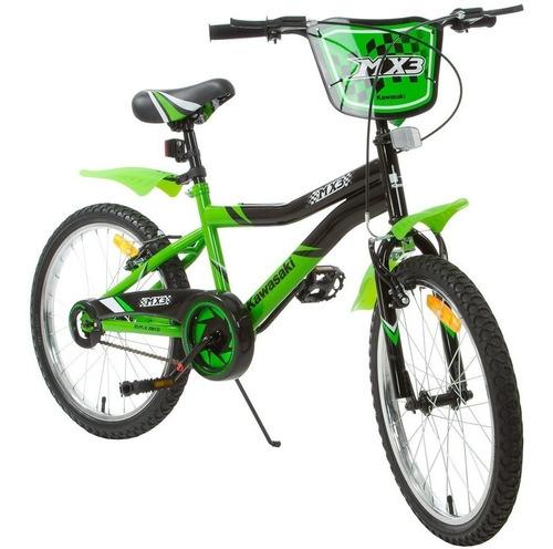 bicicleta infantil criança kawasaki mx3 aro 20