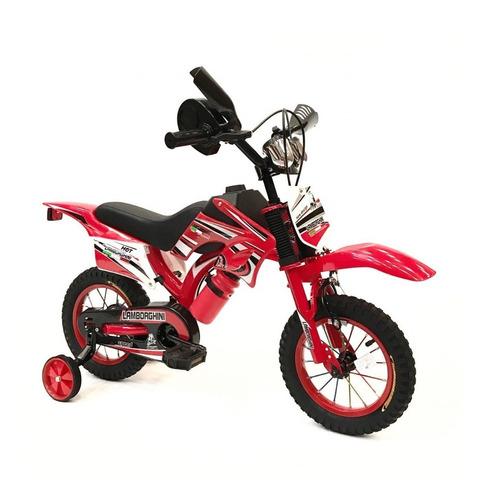 bicicleta infantil  moto cross rodado 16 cod7111