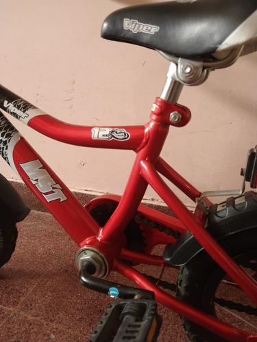 bicicleta infantil musetta viper rodado 12