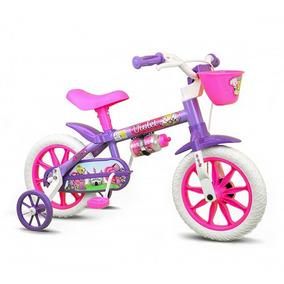 c9c151605 Bicicleta Hello Kitty Aro 12 - Bicicletas Infantis De Passeio Aro 12 no  Mercado Livre Brasil