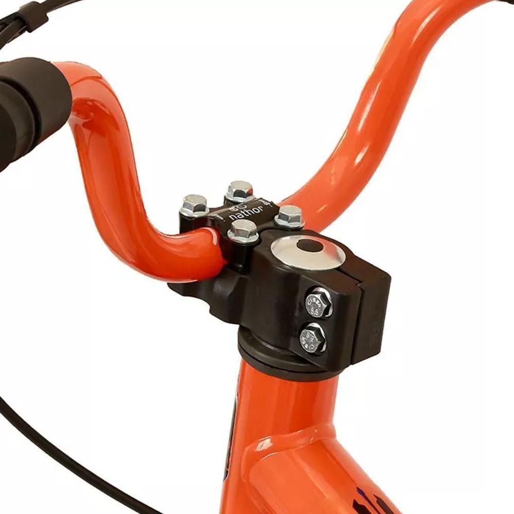 6aea81e92 bicicleta infantil nathor extreme aro 16 laranja e preto. Carregando zoom.