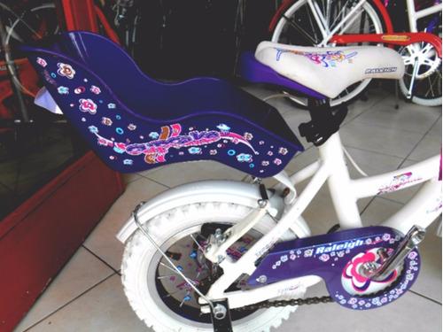 bicicleta infantil niña - raleigh cupcake rodado 12-md 2016!