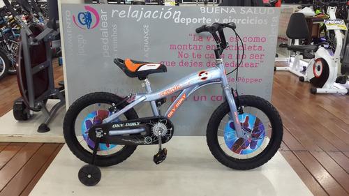 bicicleta infantil okydoky rodado 16 varón niños kids cuotas