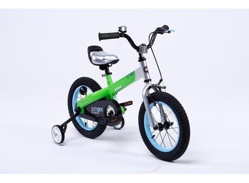 bicicleta infantil royal baby buttons aluminio nueva r16