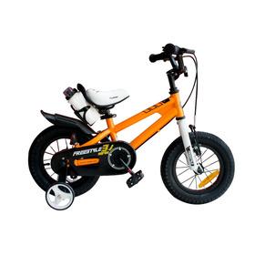 Bicicleta Infantil Royal Baby Freestyle Niña Niño Rodado 12