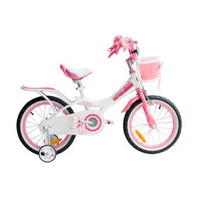 Bicicleta Infantil Royal Baby Jenny R 12 Niña Canastito Rosa