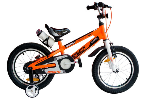 bicicleta infantil royal baby space aluminio r 12 niño color