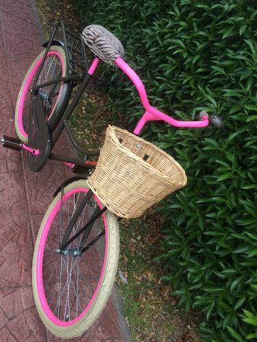 bicicleta inglesa mujer tipo vintage retro clasica premium