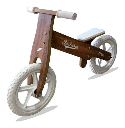 bicicleta inicio de madera bici balance camicleta r 12 baum