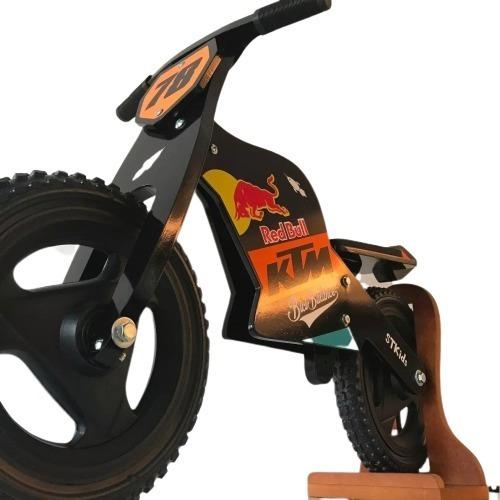 bicicleta inicio tipo moto ktm madera bici camicleta 12 baum
