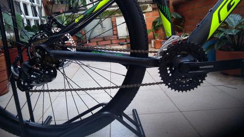 bicicleta jackal 27.5 gw disco, 21 vel doble palanca shimano