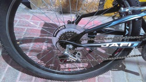 bicicleta jafi apolo doble amortiguador modelo deportivo acc