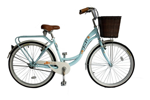 bicicleta jafi vintage lady de paseo mujer aro 26