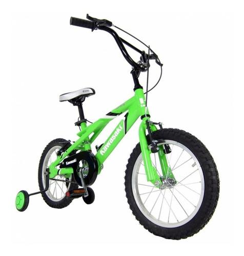 bicicleta kawasaki rodado 16 kmx-160