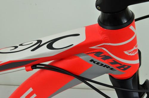 bicicleta kore mostar 29 mtb 21 vel aluminio shimano cuotas