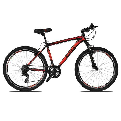 bicicleta kore mtb 26 21v shimano aluminio premium disco