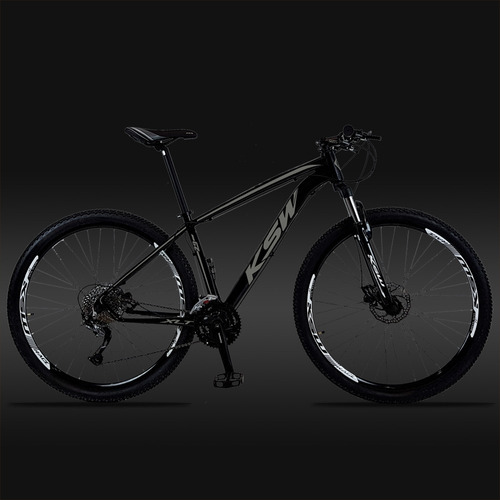 bicicleta ksw cambio alivio m4000 27v hidraulica trava gudao