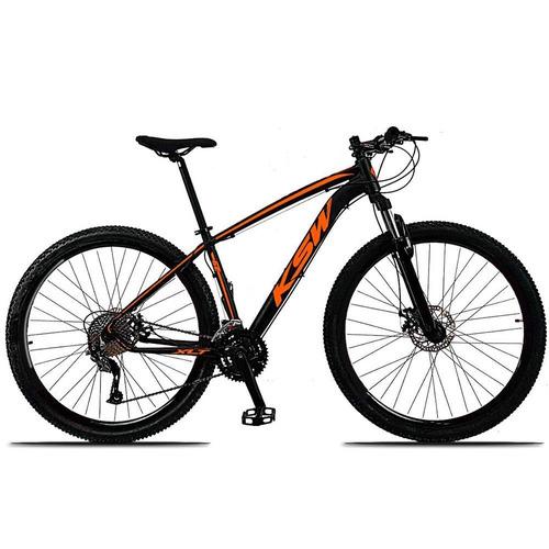 bicicleta ksw xlt 29 acera novo 27v hidráulico k7 trava