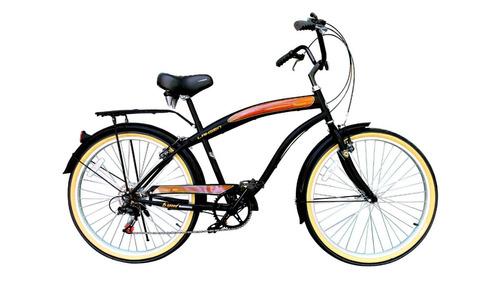 bicicleta lahsen city bike sunset aro 26 hombre