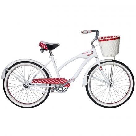 bicicleta lahsen cruiser disney minnie aro 24-mujer