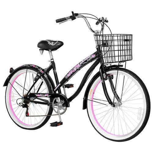 bicicleta lahsen de paseo spring spirit aro 26