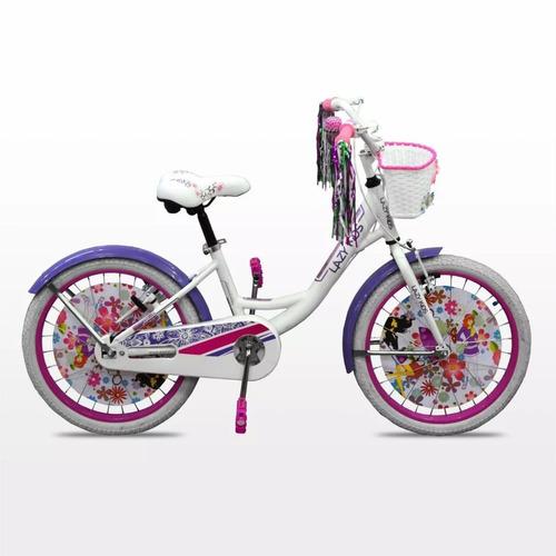 bicicleta lazy aluminio equipada paseo rodado 20 nena m1