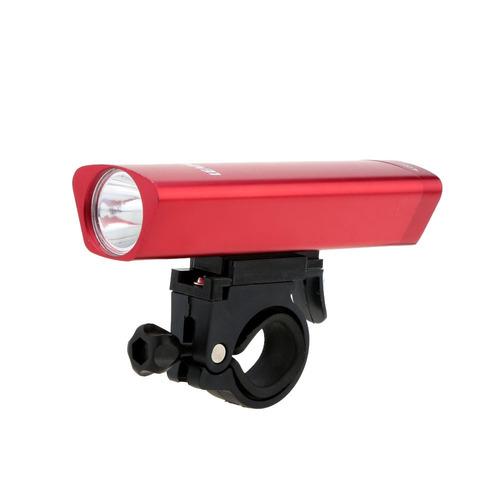 bicicleta luz mini antorcha linterna eléctrica 3modes rojo