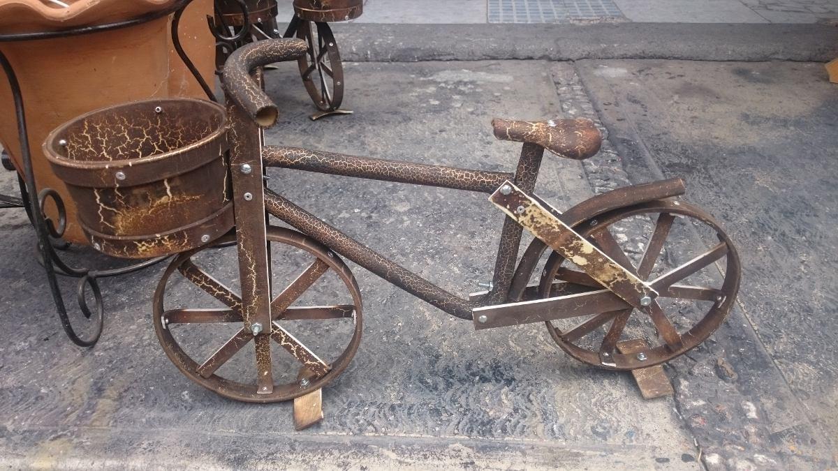 Bicicleta macetero decorativas en mercado libre - Bicicleta macetero ...