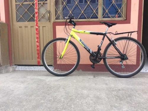 bicicleta marca roca verde / negra