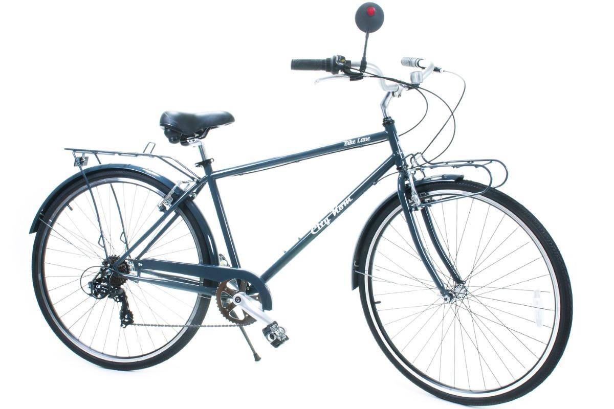 402d9d847 Bicicleta Masculina Aro 700 City Kom 7 Vel. - Com Bagageiro - R$ 1.600,00 em  Mercado Livre