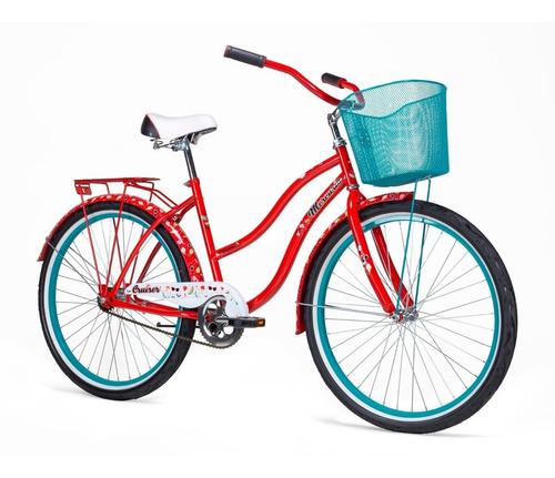 bicicleta mercurio cruiser retro rodada 26 salpicaderas