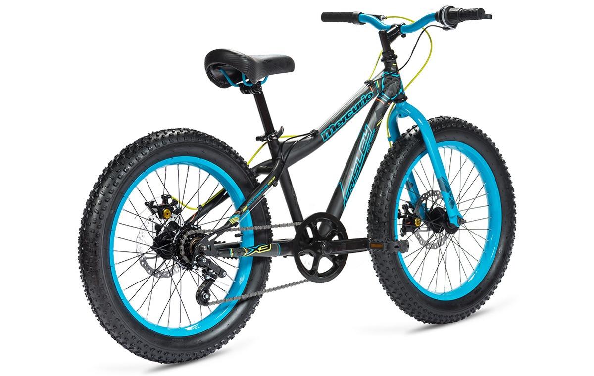 Bicicleta Mercurio Grisley Rodada 20 Acero Llanta Fat 3.0 ...