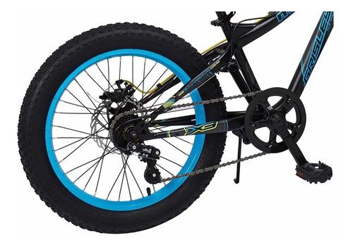 bicicleta mercurio grisley rodada 20 llanta fat 3.0