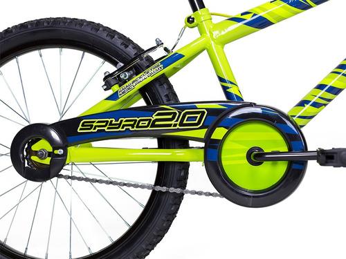 bicicleta mercurio infantil spyro rodada 20 cubrecadena