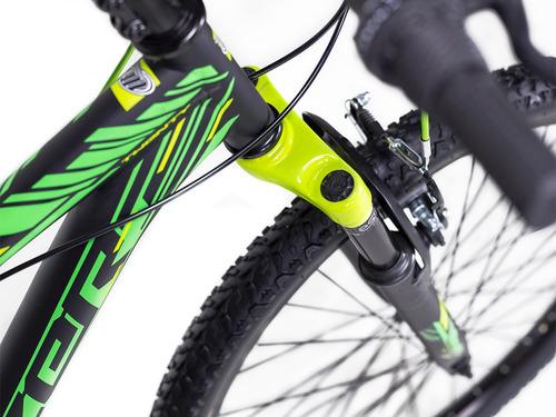 bicicleta mercurio kaizer rodada 26 c/suspensión 21 vel 2018