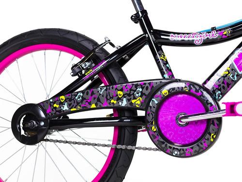 bicicleta mercurio sweetgirl rodada 20 acero cubrecadena