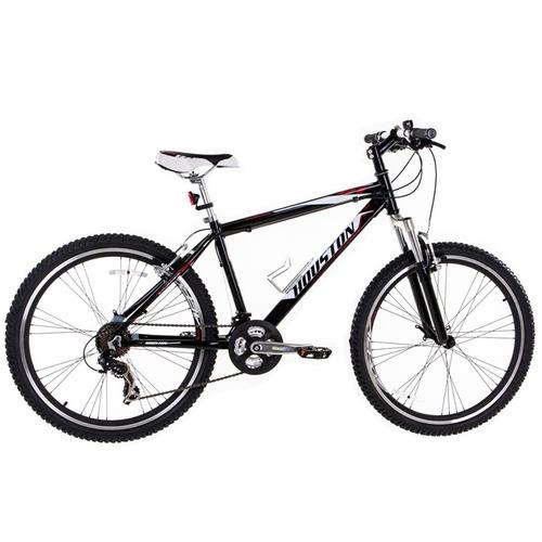 bicicleta mercury ht, aro 26, 21 marchas, preto - houston