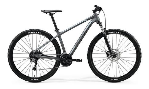 bicicleta merida big.nine 100 matt dark grey(silver)