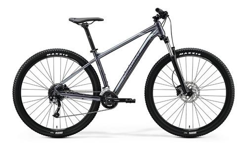 bicicleta merida big.nine 200 aro 29 glossy anthracite