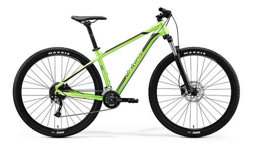 bicicleta merida big.nine 200 aro 29 glossy green black