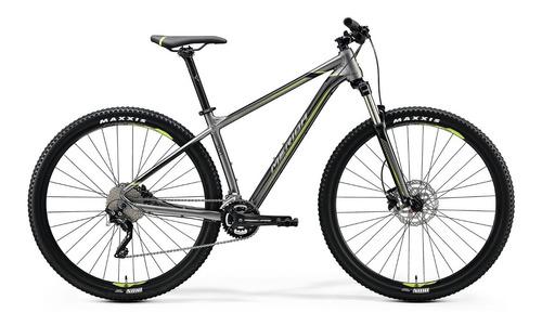 bicicleta merida big.nine 300 aro 29 silk anthracite(g