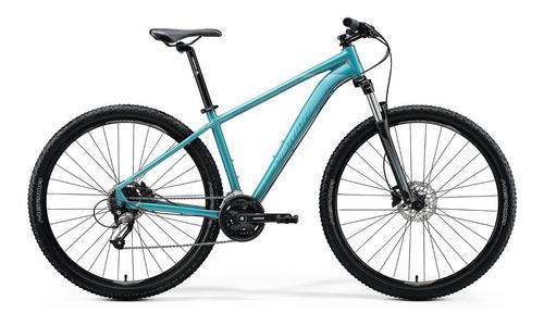 bicicleta merida big.nine 40 aro 29 glossy teal(black/silver