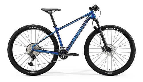 bicicleta merida big.nine xt2 m(17) glossy ocean blue