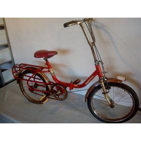 Bicicleta Monark Monareta Olé 70 Aro 20 Antiga Para Restauro
