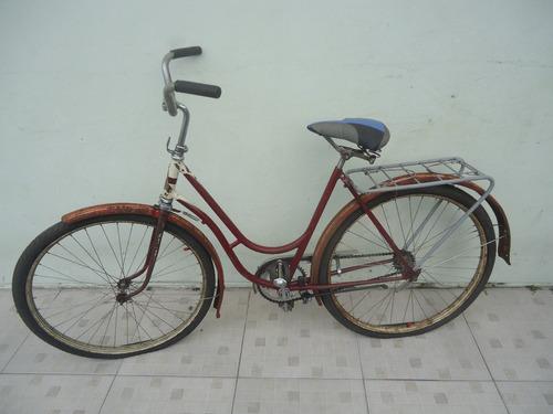 bicicleta monark sueca aro 26 dos anos 50