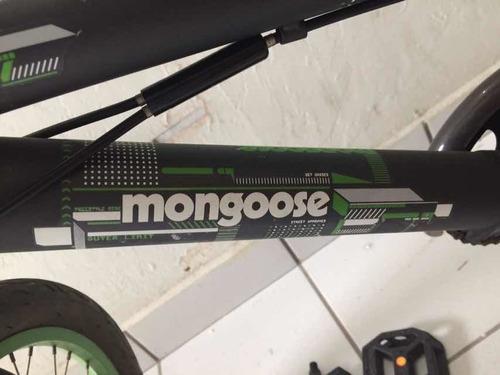 bicicleta monggose original seminuevaperfecta condición