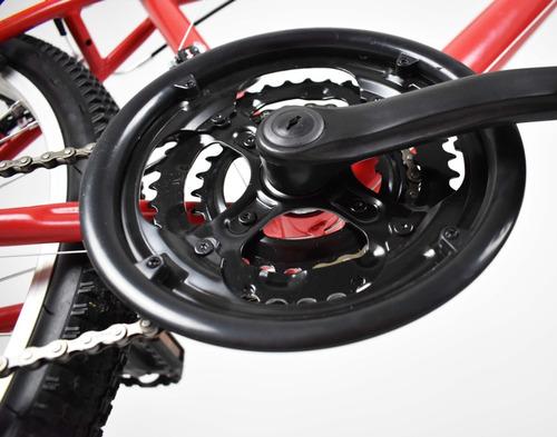 bicicleta monk kron rodada 26 con suspension 18 velocidades