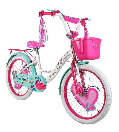 bicicleta monk pintarela rodada 20 niña