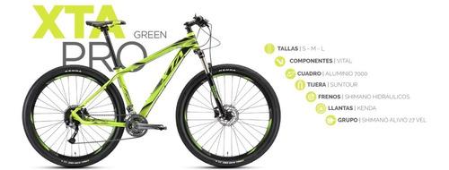 bicicleta montaña alubike xta pro rodada 29 y 27 velocidades